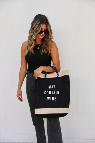 May Contain Wine Bag