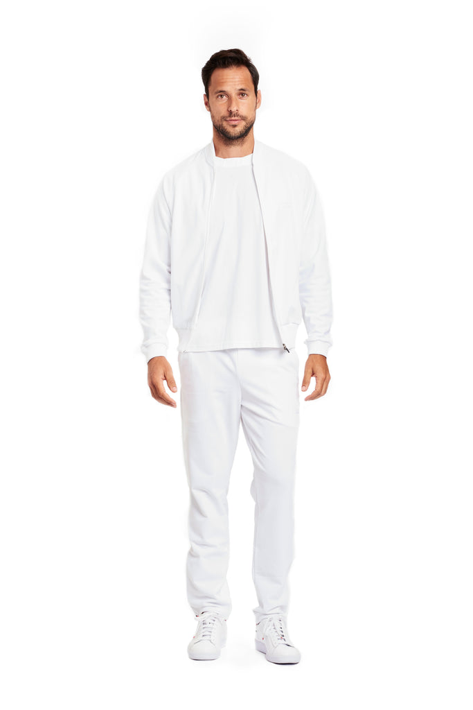 "Pant Warm-up Suit ""Tutto Bianco"""