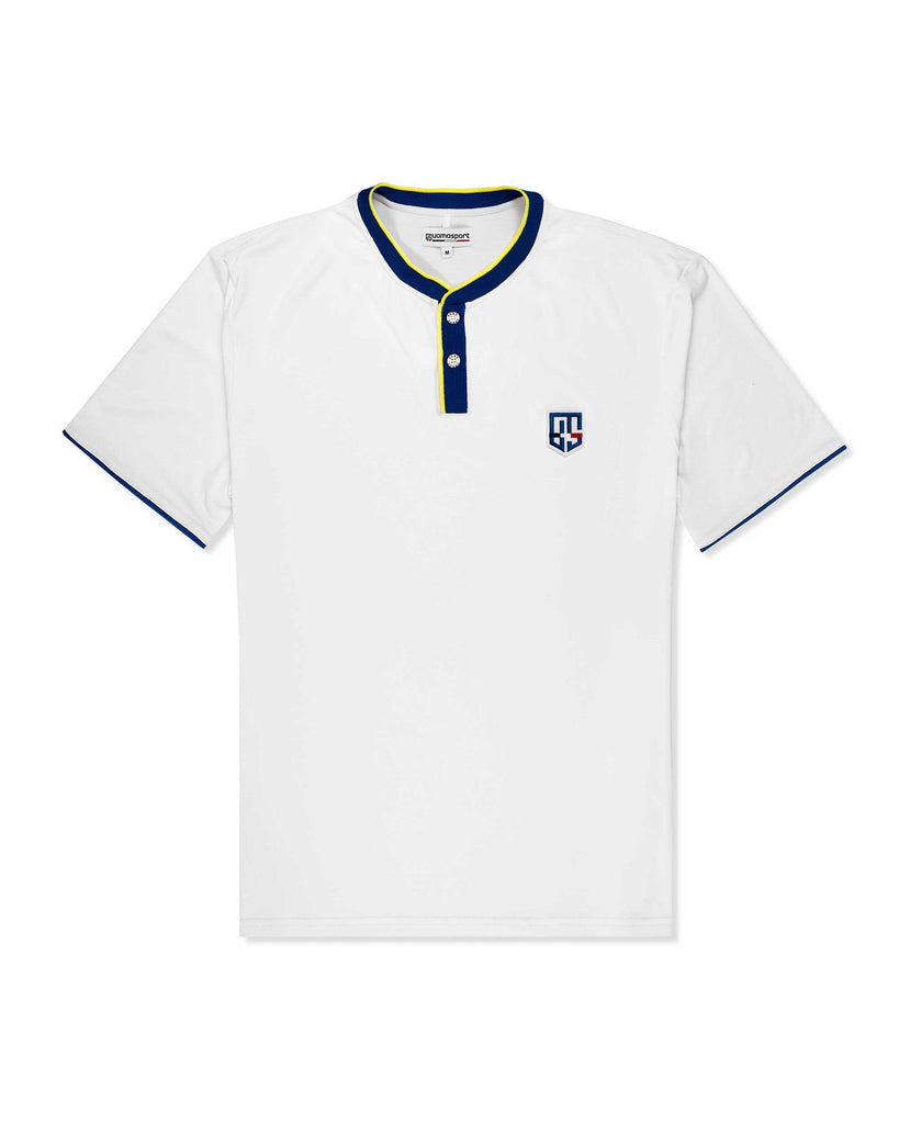 Arioso Henley White/Blue/Yellow