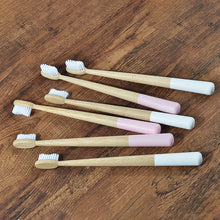 Load image into Gallery viewer, The Bamboo Buddy - 4 Pack Biodegradable Toothbrushes