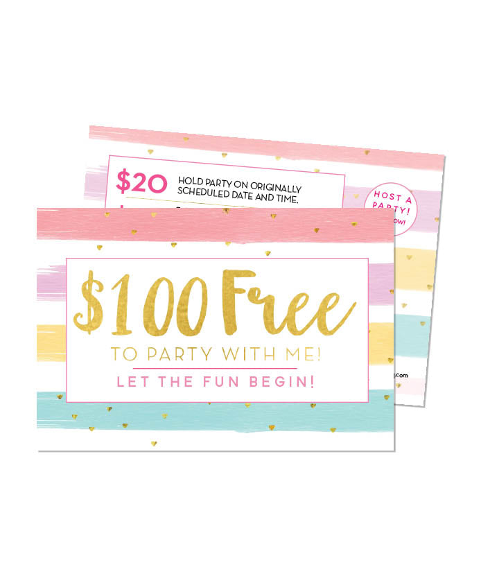 $100 Free When You Party With Me!