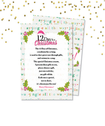 12 Days of Christmas Poem