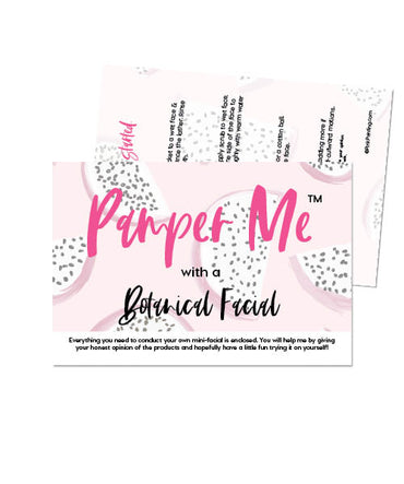 Pamper Me™ with a Botanical Facial In A Bag