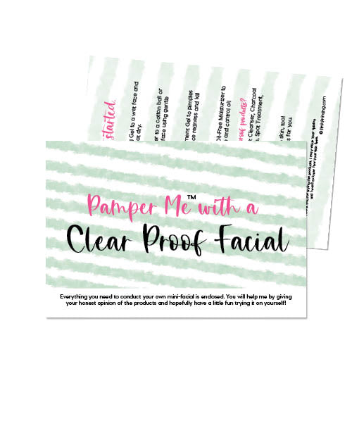 Pamper Me™ with a ClearProof Facial In A Bag