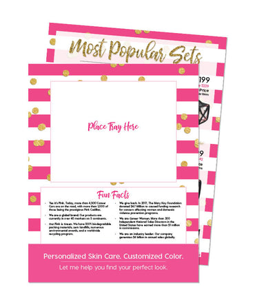 Pamper Me™ Confetti Most Popular Set Sheet Placemat