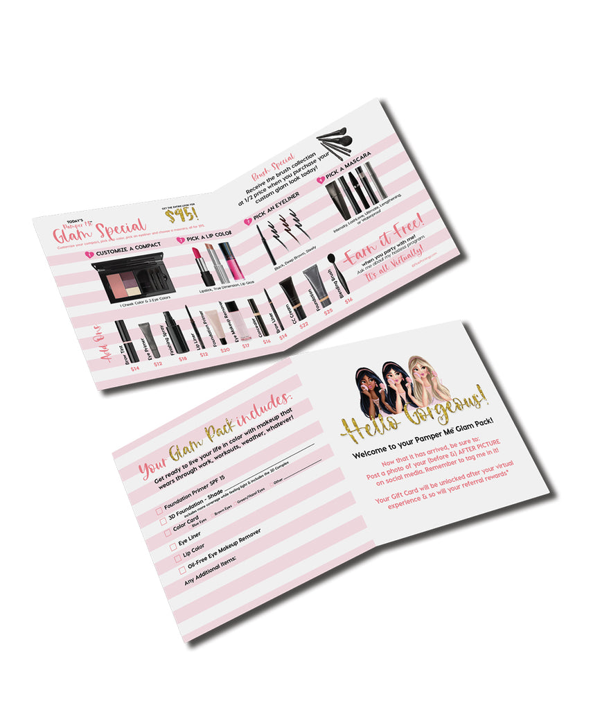 Pamper Me™ Glam Day Mini Set Sheet