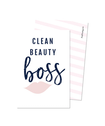 Clean Beauty Boss (BeautyCounter)