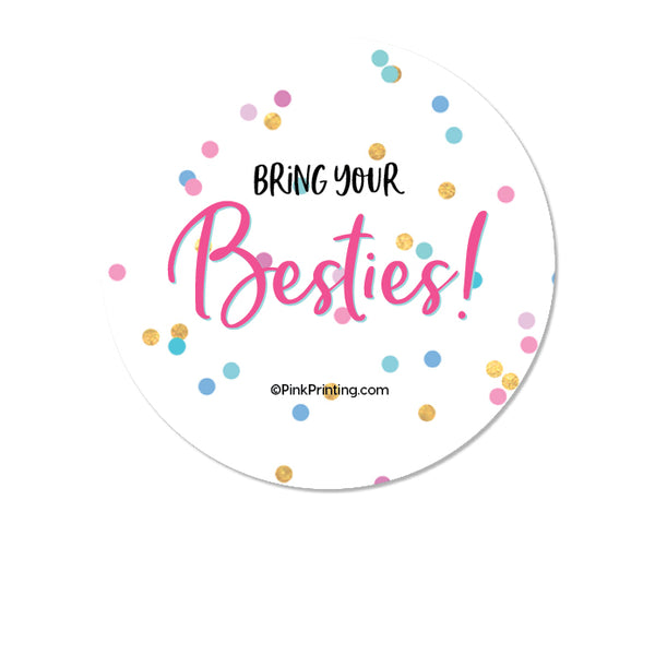 Bestie Sticker- LIMITED EDITION