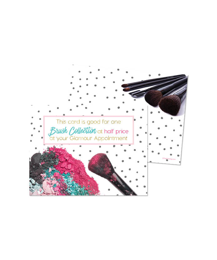 Half Price Brush Set Coupon