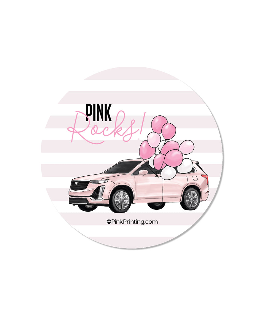 Pink Rocks Sticker