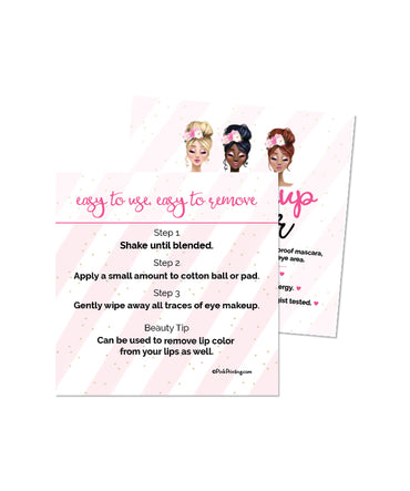 Eye Makeup Remover Card