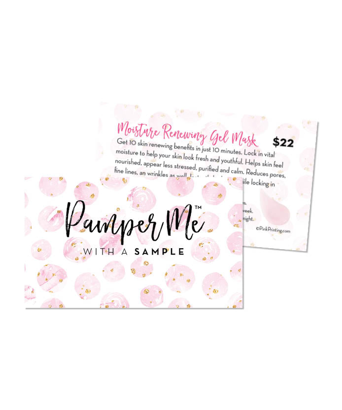 Pamper Me™ with a Sample Card (Renewal Mask)