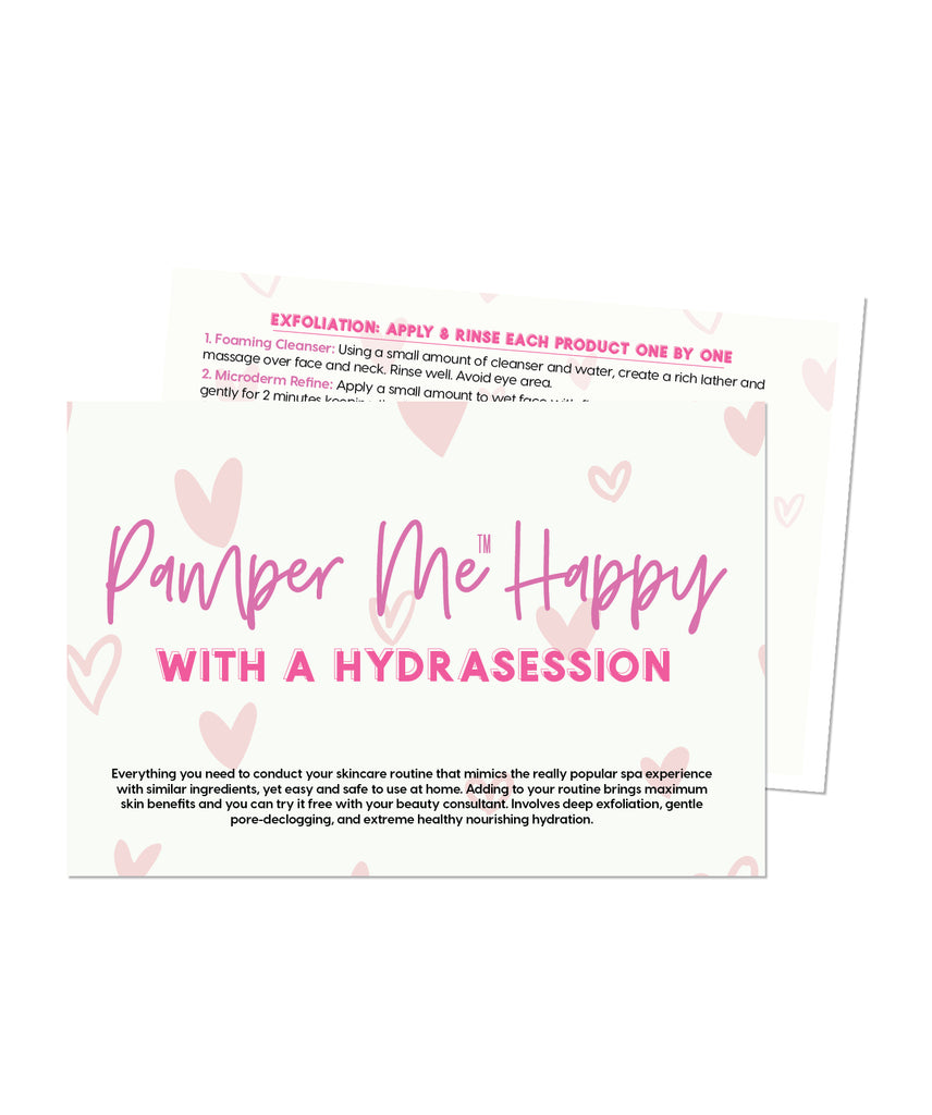 Pamper Me™ with a Hydra Session In A Bag