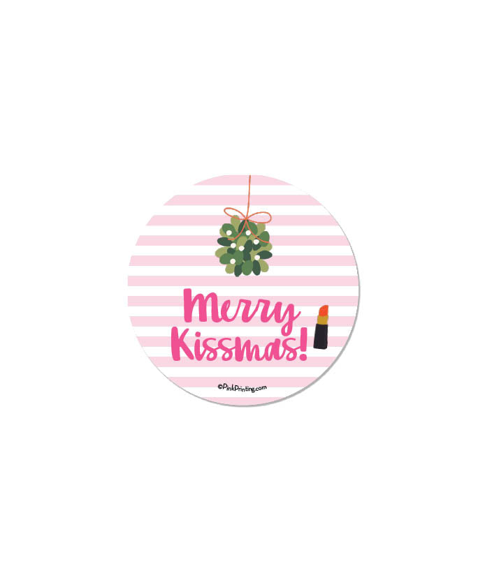 Merry KISSmas Sticker
