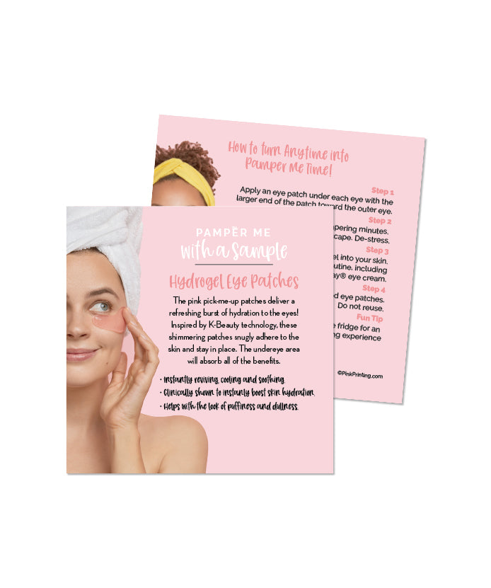 Pamper Me™ with a Sample  (Hydrogel Eye Patches)