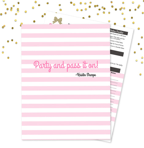 Pamper Me™ Party Page