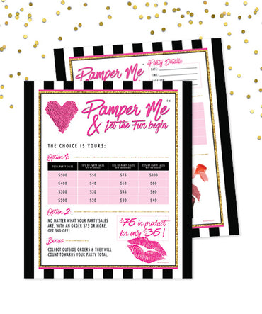 Pamper Me™ Hostess sheets ($75 for $35)