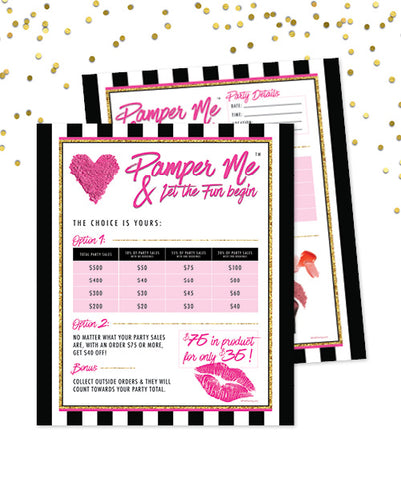 Pamper Me™ Hostess Pack ($75 for $35)