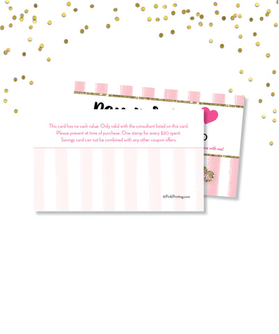Pamper Me™ Savings card