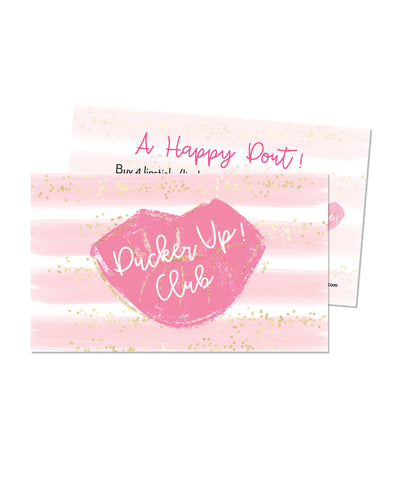 Pucker Up Card