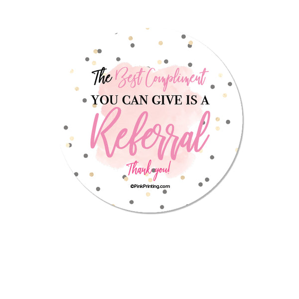 Referral Sticker