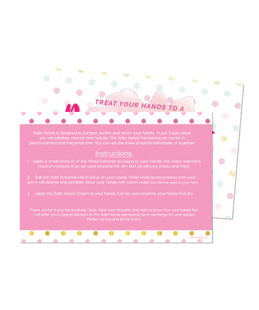 Satin Hands Cards