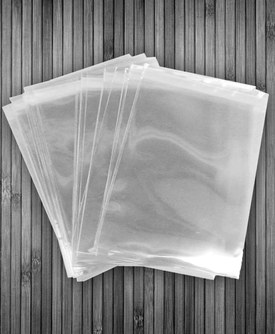 Self Seal Clear Cello Bags