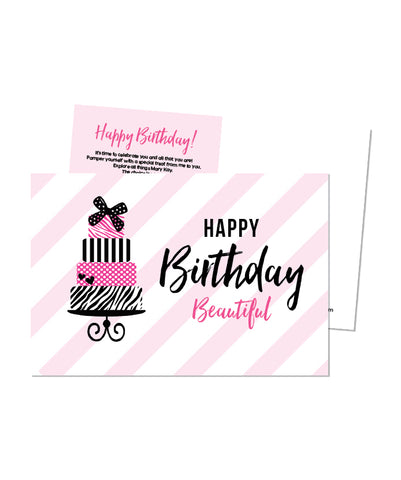 Customer Birthday Postcard