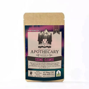 Cosmic Cleanse Fine Tea | 60 MG CBD | The Brothers Apothecary