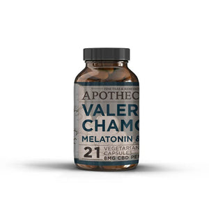Valerian Chamomile Sleep Aid | 8 MG CBD | The Brothers Apothecary