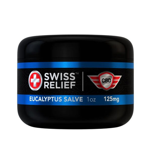 EUCALYPTUS SALVE | 125 - 250 MG CBD | SWISS RELIEF