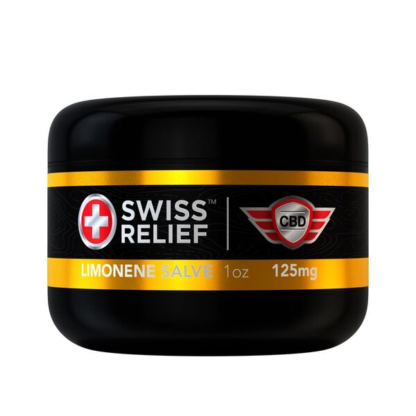 LIMONENE SALVE | 125 - 250 MG CBD | SWISS RELIEF