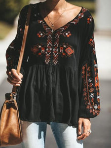 Plus Size Casual Tops Tunic Button Down Blouse Shirt