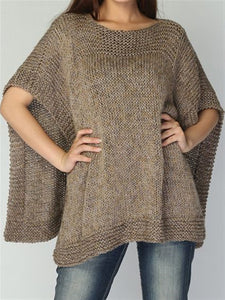 Autumn Winter Casual Knitted Sweater