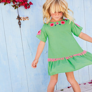 Girls Cinco De Mayo Dress