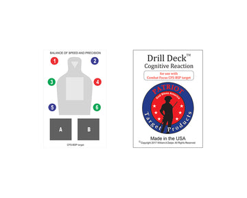 Drill Deck for CFS-BSP Target - Patriot Firearms School & Defense LLC