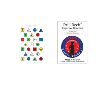 Drill Deck for Re Factor IQ Target - Patriot Firearms School & Defense LLC