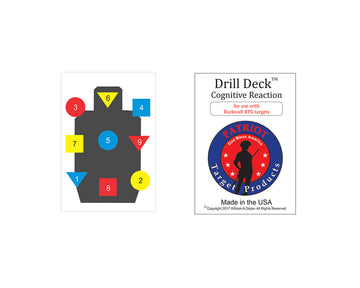 Drill Deck for Rockwell RTG Target - Patriot Firearms School & Defense LLC