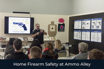 Home Firearm Safety at Ammo Alley - Patriot Firearms School & Defense LLC