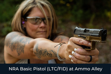 NRA Basic Pistol (LTC/FID) at Ammo Alley - Patriot Firearms School & Defense LLC