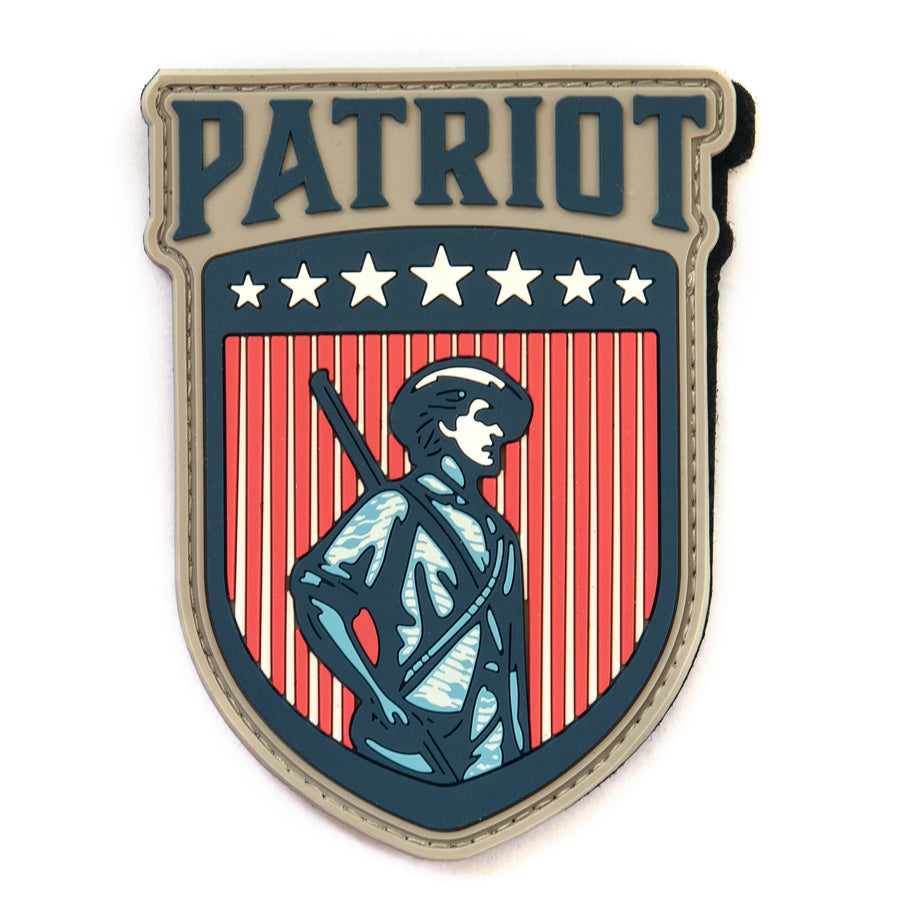 Patriot PVC Patch - Patriot Firearms School & Defense LLC