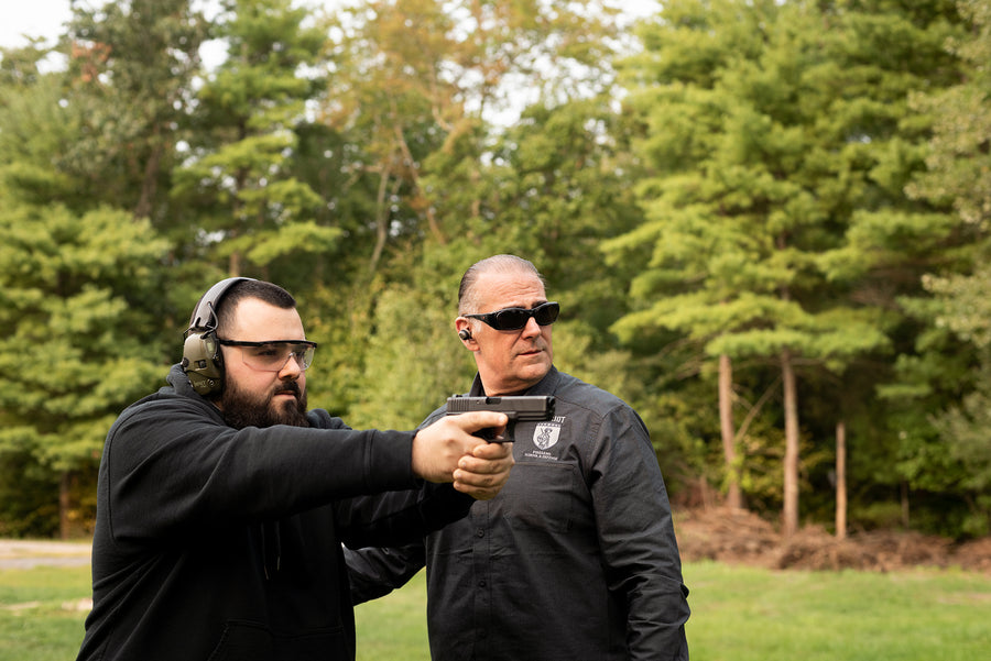 Supervised Range Time - Patriot Firearms & Defense School