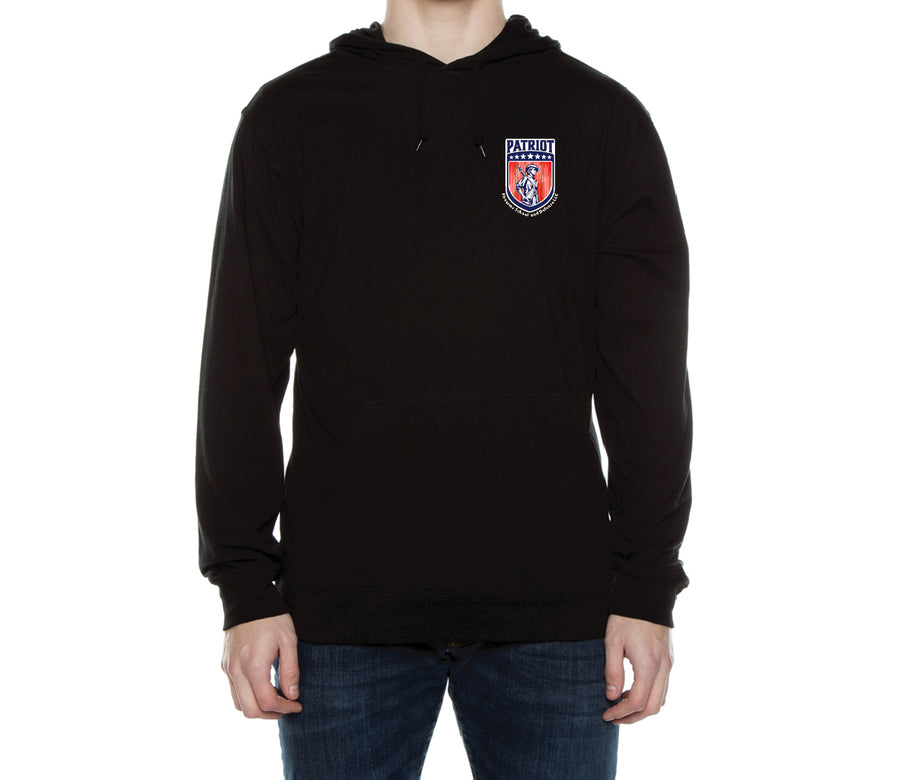 Patriot Hooded T-shirt - Patriot Firearms School & Defense LLC