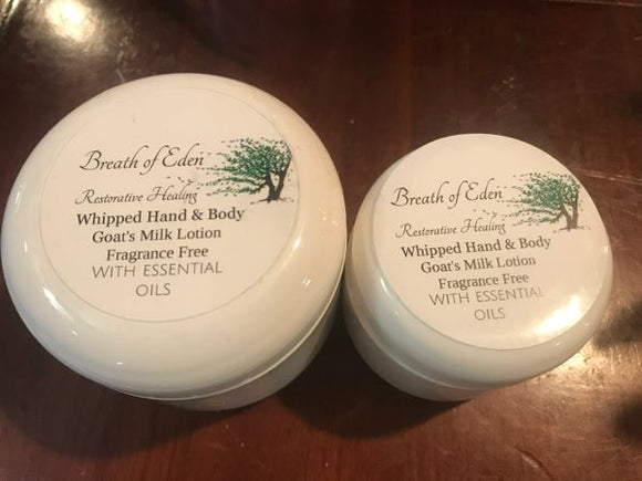 GREAT NEW Restorative Hand and Body Treatment Cream Goat's Milk Products from our farm