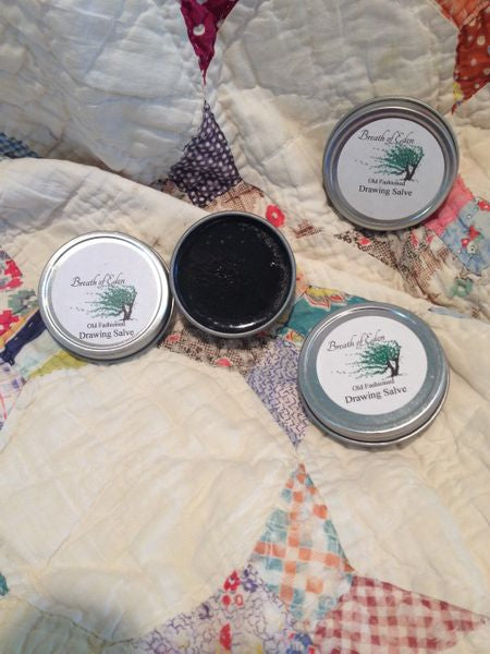 Old-Fashioned DRAWING SALVE- 1 ounce