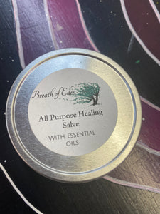 Healing Salve with essential oils