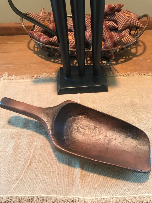 Treenware large primitive scoop
