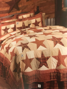 Abilen Star quilts, curtains & accesories