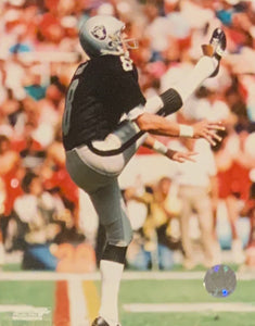 Ray Guy Oakland Raiders Licensed NFL 8x10 Photo