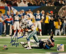 Jay Novachek autographed 8x10 cowboys photo w Cert of Auth